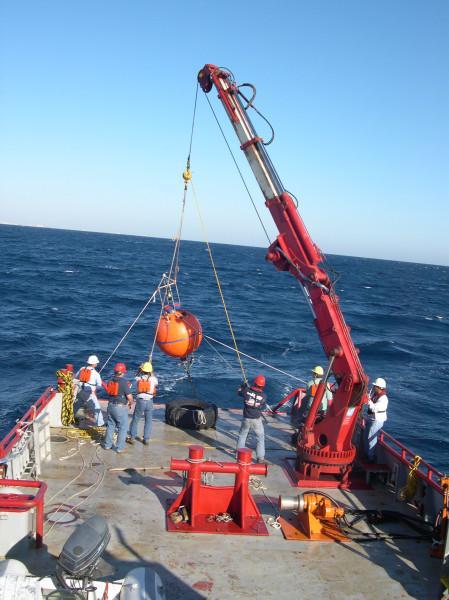 Ocean Data ADCP Deployment