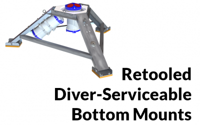 Retooled Diver-Serviceable Bottom Mounts
