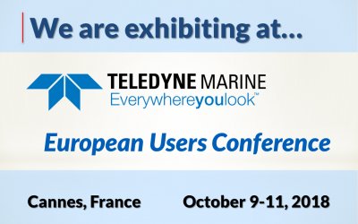 2018 European Teledyne Marine Users Conference