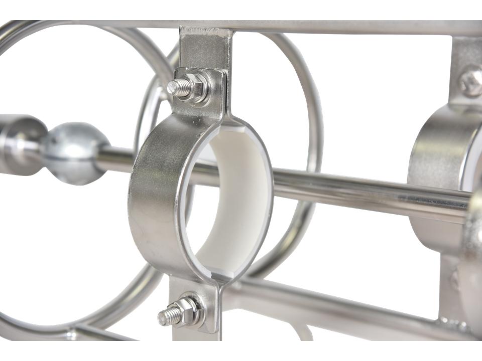 Closeup of Dual Inline ADCP Mooring Frame