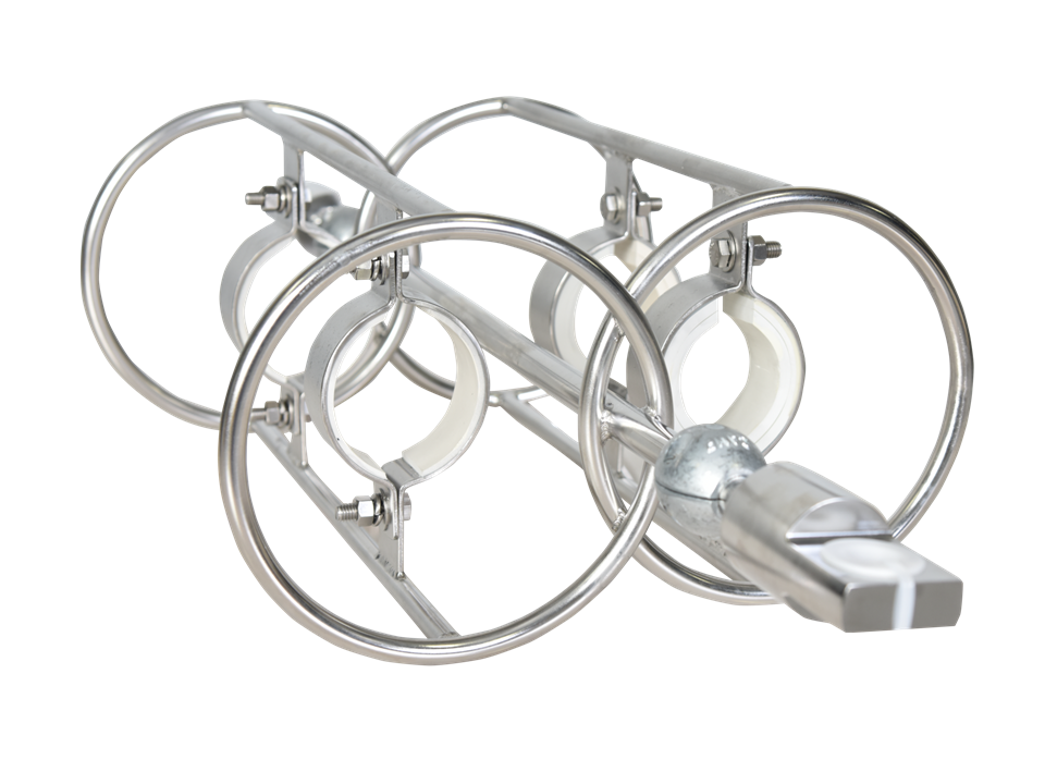 Dual Inline ADCP Mooring Frame