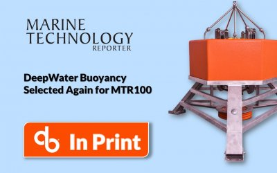 DeepWater Buoyancy in 2019 MTR100
