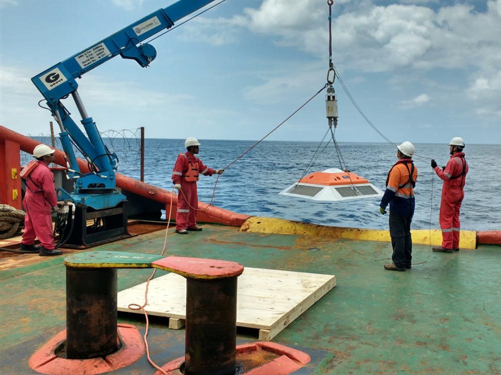 Photo Courtesy of Sidney Bilinski, Metocean Services International
