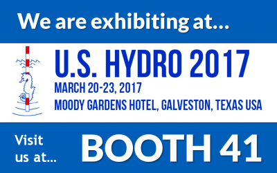 Exhibiting at U. S. Hydro 2017