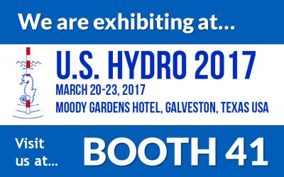 Exhibiting at U. S. Hydro 2017