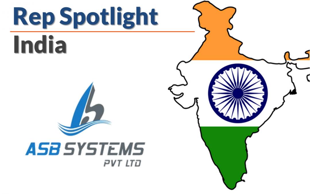Representative Spotlight – ASB Systems in India