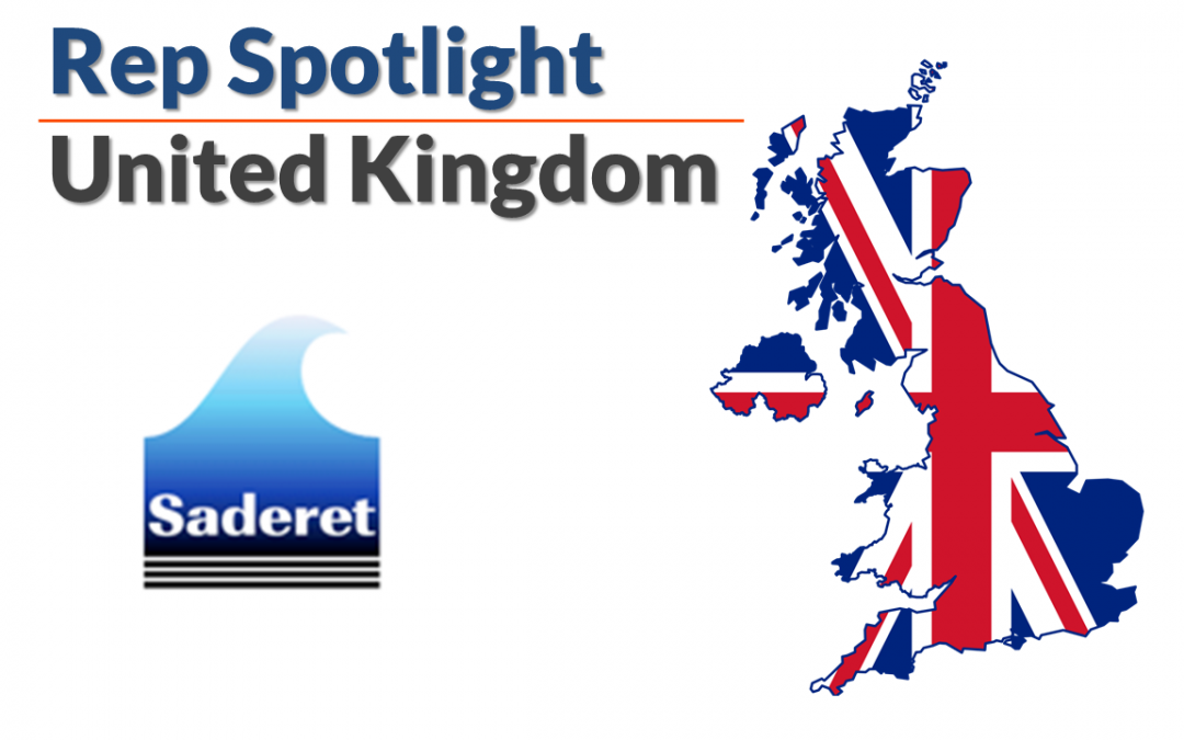 Representative Spotlight – Saderet Ltd. in the UK