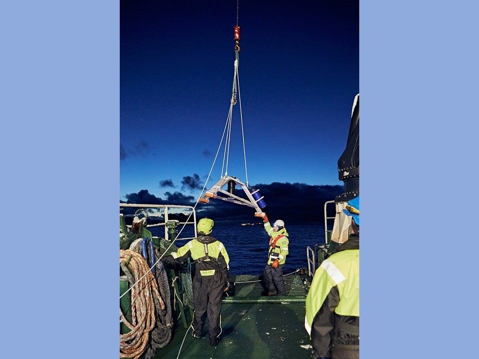 Preparing to Deploy a DeepWater Tripod Bottom Mount with Nortek Signature ADCP