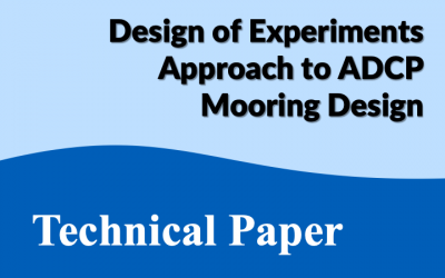 Technical Paper: DoE Approach to Mooring Design