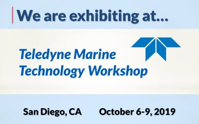 2019 Teledyne Marine Technology Workshop