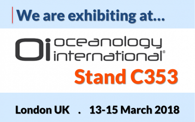 Exhibiting at Oceanology International 2018