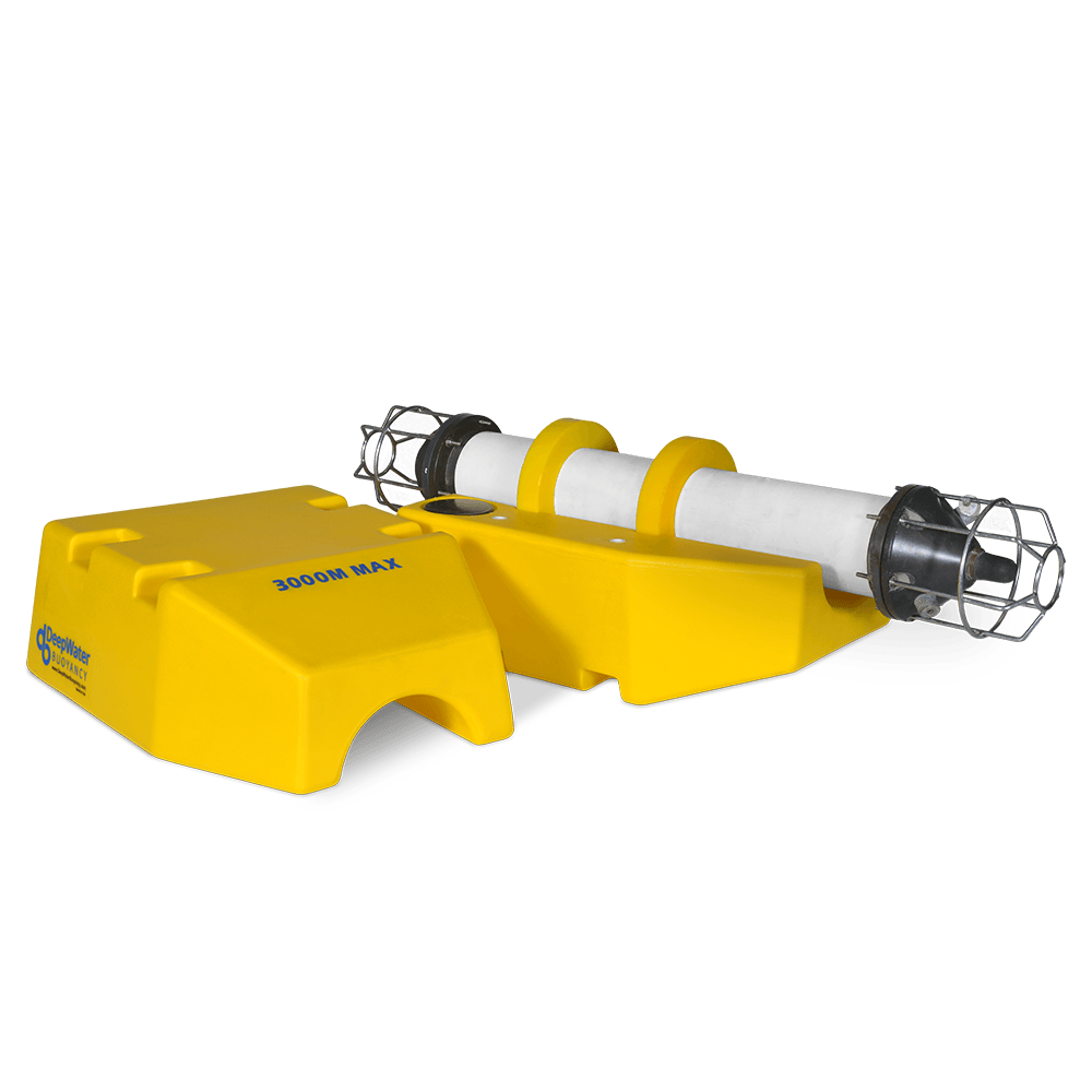 DeepWater Buoyancy Subsea Instrument Collar Float